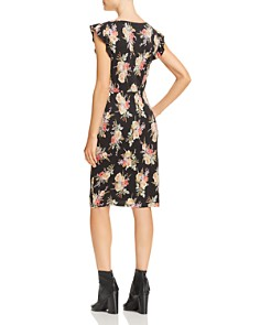 Rebecca Taylor - Bouquet Floral Jersey Dress